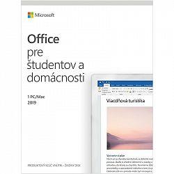 Software  Microsoft Office 2019 pre študentov a domácnosti SK... Software