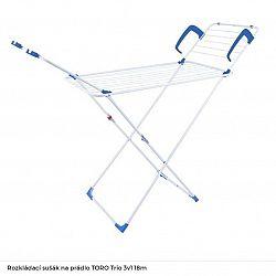 Sušiak na prádlo Toro EU96719 Trio 3v1... Variabilní rozkládací sušák na prádlo.