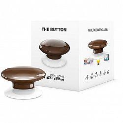 Tlacitko Fibaro Button, Z-Wave Plus hnedé (FIB-Fgpb-107-ZW5...