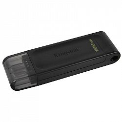 USB flash disk Kingston DataTraveler 70 128GB, USB-C čierny...