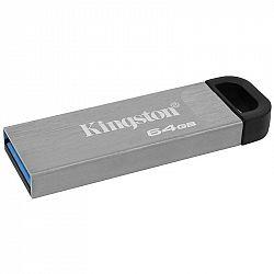USB flash disk Kingston DataTraveler Kyson 64 GB strieborný...