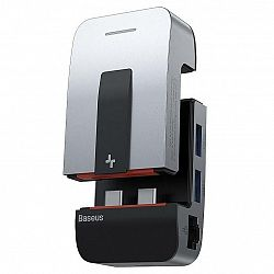 USB Hub Baseus Armor Age USB-C/3x USB 3.0, USB-C, Hdmi, 3,5mm Jack,...