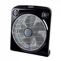 Ventilátor podlahový Rohnson R-8200 Twister čierny... Snadné přenášení díky madlu, ochranná mřížka, 3 rychlosti, tichý provoz.