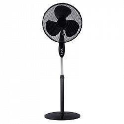 Ventilátor stojanový Guzzanti GZ 1401 čierny... Průměr 40 cm, 3 rychlosti, automatická oscilace.