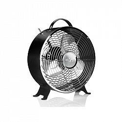 Ventilátor stolový Tristar VE-5966 čierny... Retro vzhled, průměr 25 cm, 2 rychlosti.