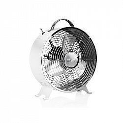 Ventilátor stolový Tristar VE-5967 biely... Retro vzhled, průměr 25 cm, 2 rychlosti.