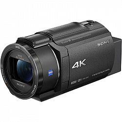 Videokamera Sony FDR-AX43 čierna... Videokamera, snímač CMOS Exmor R® typu 1/2,5 (7,20 mm) se zpětným osvětlením, stabilizátor obrazu SteadyShot s pět