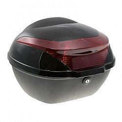 Zadní kufr k elektrickému motocyklu Racceway E-Babeta, čern... Vodotěsný a uzamykatelný zadní kufr o objemu 16 l určený pro elektrický motocykl RACCEW