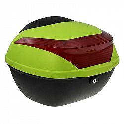 Zadní kufr k elektrickému motocyklu Racceway E-Babeta, zelen... Vodotěsný a uzamykatelný zadní kufr o objemu 16 l určený pro elektrický motocykl RACCE