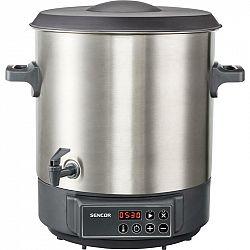 Zavárací hrniec Sencor SPP 3200SS... Zavařování a sterilizace ovoce a zeleniny, vhodný pro přípravu horkých nápojů, objem 27 l.