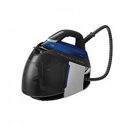 Žehliaci systém Beko Sga8328d modr... Žehlička s parním generátorem, příkon 2800 W, 7,2 bar, parní ráz 450 g/min, stálý výstup páry 130 g/min, displej