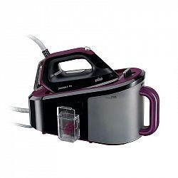 Žehliaci systém Braun CareStyle 5 IS 5155 BK čierny/fialov... Vysoký parní tlak a extra parní ráz, 3D žehlicí plocha FreeGlide, extra velká vyjímateln