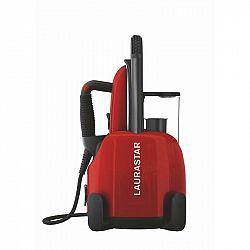Žehliaci systém Laurastar Lift original red červen... Parní generátor s profesionální žehličkou, konstantní tlak 3,5 bar, odnímatelný zásobník na vodu