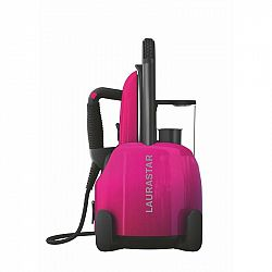 Žehliaci systém Laurastar Lift Plus pinky pop ružov... + dárek Parní generátor s profesionální žehličkou, konstantní tlak 3,5 bar, odnímatelný zásobní