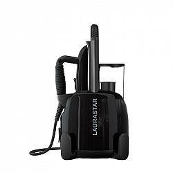 Žehliaci systém Laurastar Lift Plus ultimate black čierny... Parní generátor s profesionální žehličkou, konstantní tlak 3,5 bar, odnímatelný zásobník